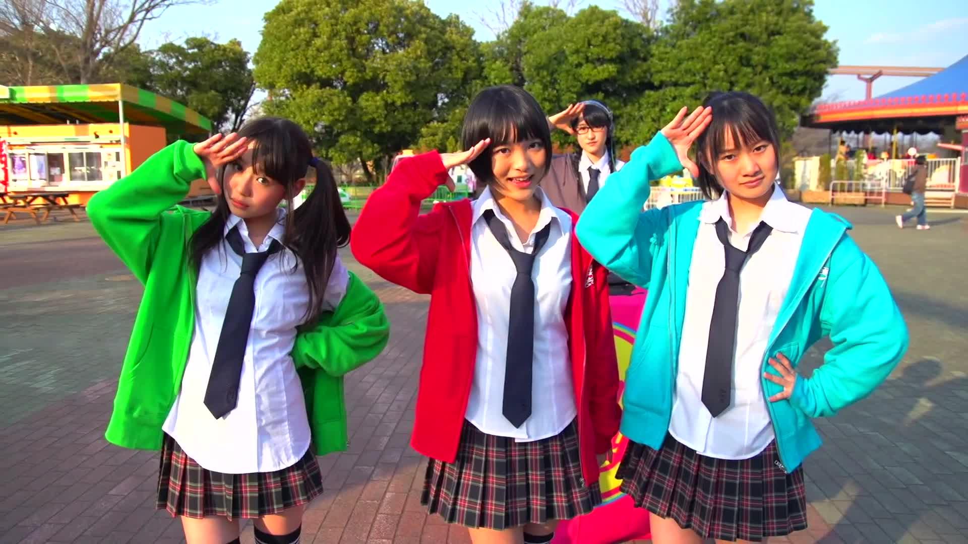 RHYMEBERRY – Sekaijuu ni I Love You (PV)