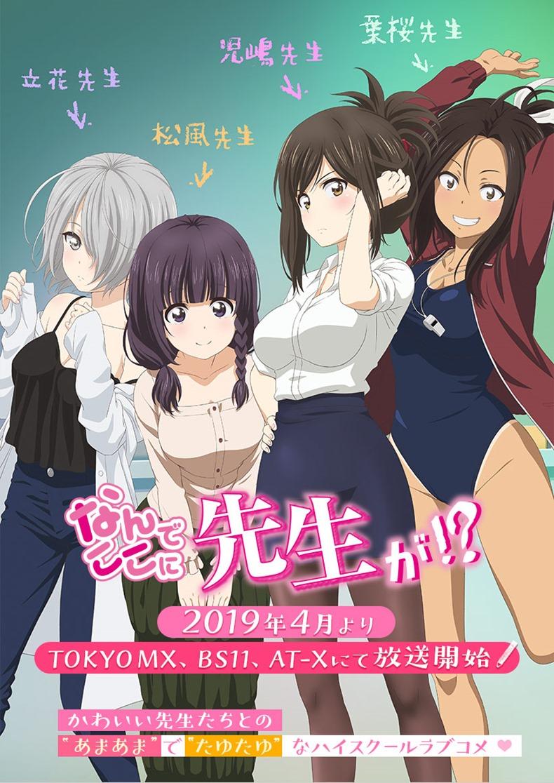 Anime Nande Koko ni Sensei ga