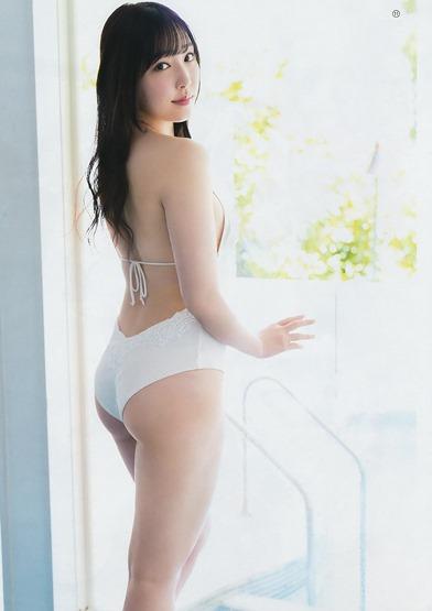 Fukumura Mizuki en la revista Young Gangan (2019 No.13) 010