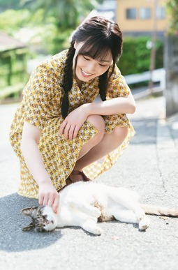 Fukumura Mizuki en la revista Young Gangan (2019 No.13) 011