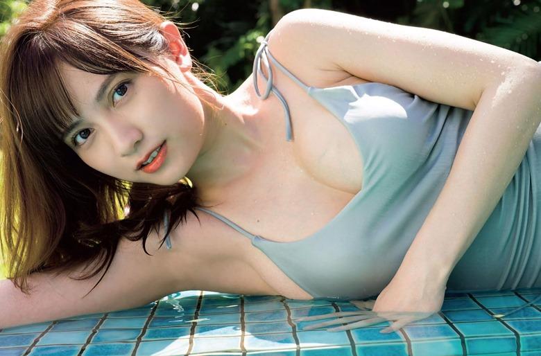 Momotsuki Nashiko FLASH magazine 003