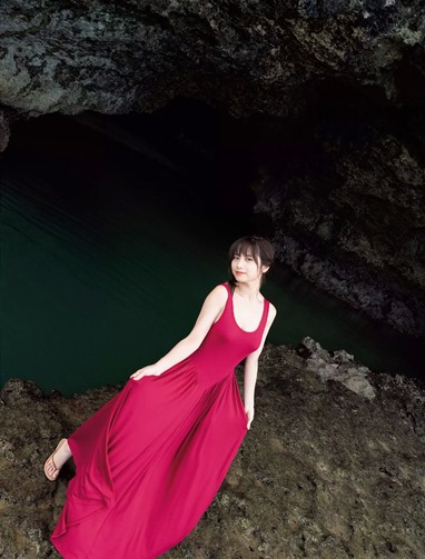 Momotsuki Nashiko FLASH magazine 004