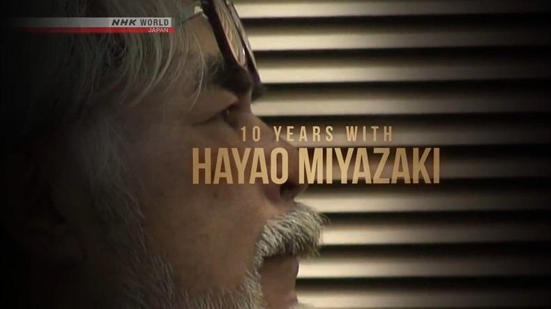 NHK World transmite gratuitamente el documental de 4 partes de Hayao Miyazaki