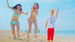Niji no Conquistador - Summer to wa kimi to watashi nari!! (video musical) 013