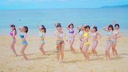 Niji no Conquistador - Summer to wa kimi to watashi nari!! (video musical) 016