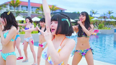 Niji no Conquistador - Summer to wa kimi to watashi nari!! (video musical) 022