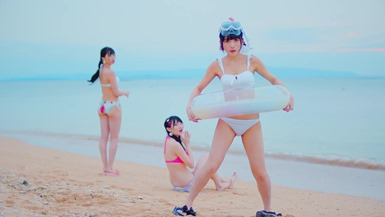 Niji no Conquistador - Summer to wa kimi to watashi nari!! (video musical) 052