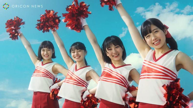Rikako, Moe, Musubu y Reira en el nuevo comercial de PIZZA-LA (video) 005