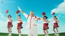 Rikako, Moe, Musubu y Reira en el nuevo comercial de PIZZA-LA (video) 006