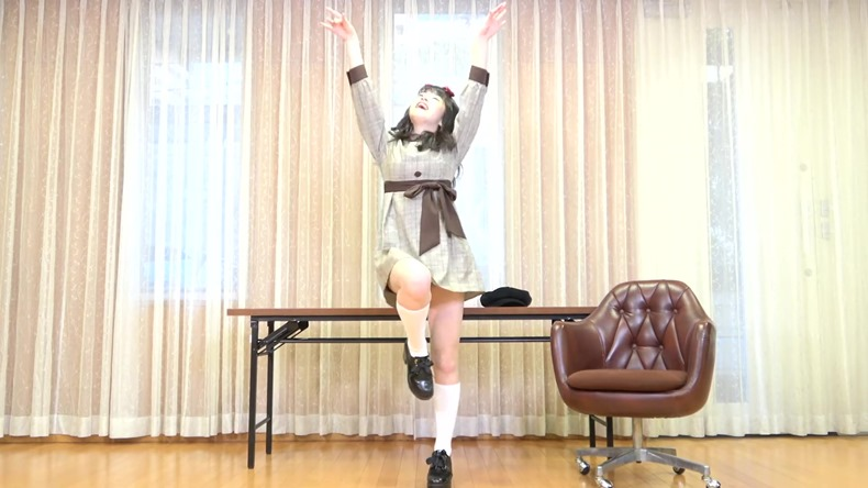 Sasaki Honoka - Chikatto Chika Chikaa (dance cover) 008