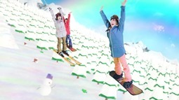 Niji no Conquistador - Snowing Love (video musical) 041