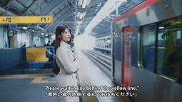 Kanzawa Tomoko - Kiiroi Sen no Uchigawa de Narande Omachi Kudasai (video musical) 005