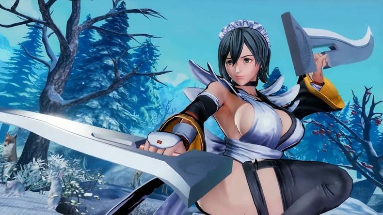 Samurai Shodown anuncia a Iroha como personaje descargable 001